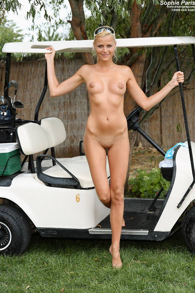 Nude Golf Cart Girl