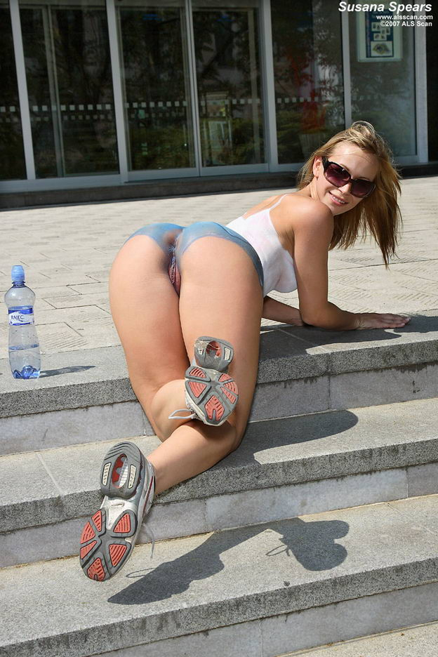 Opinion you Susana spears body paint nude in public